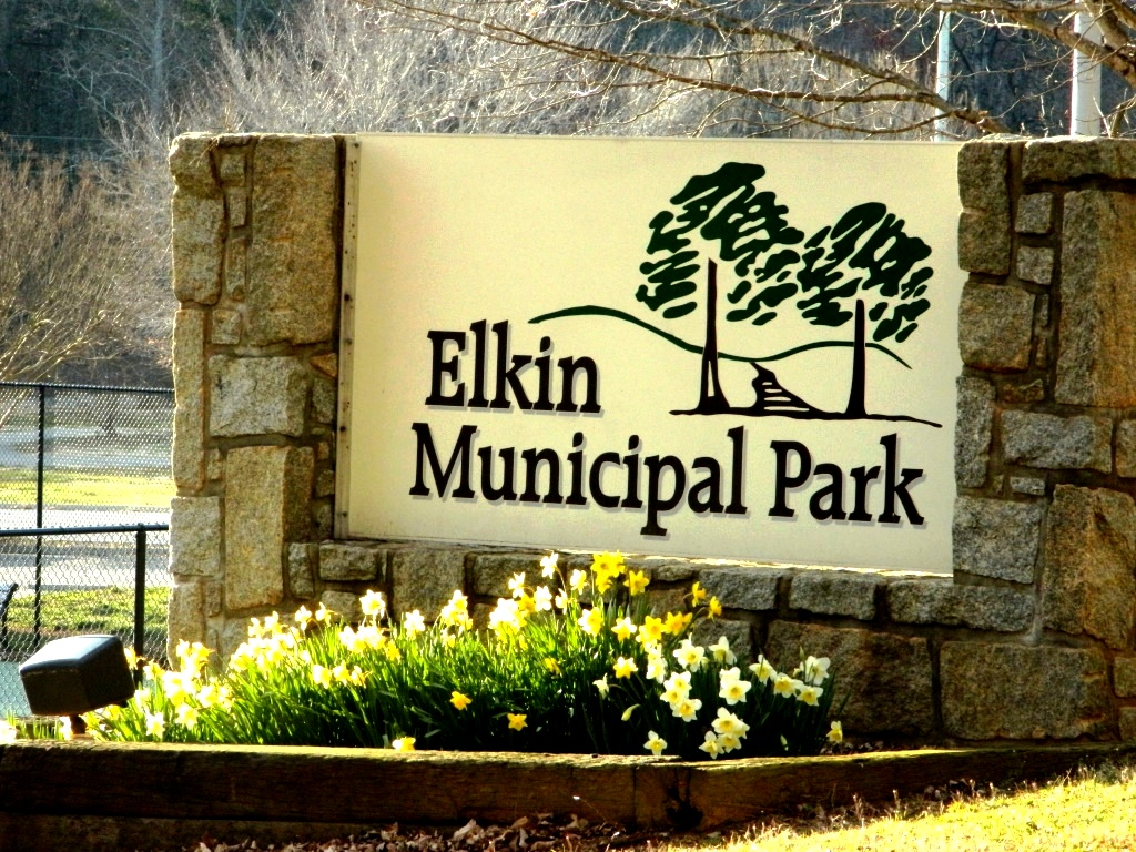 park, recreation, trail, tennis, elkin