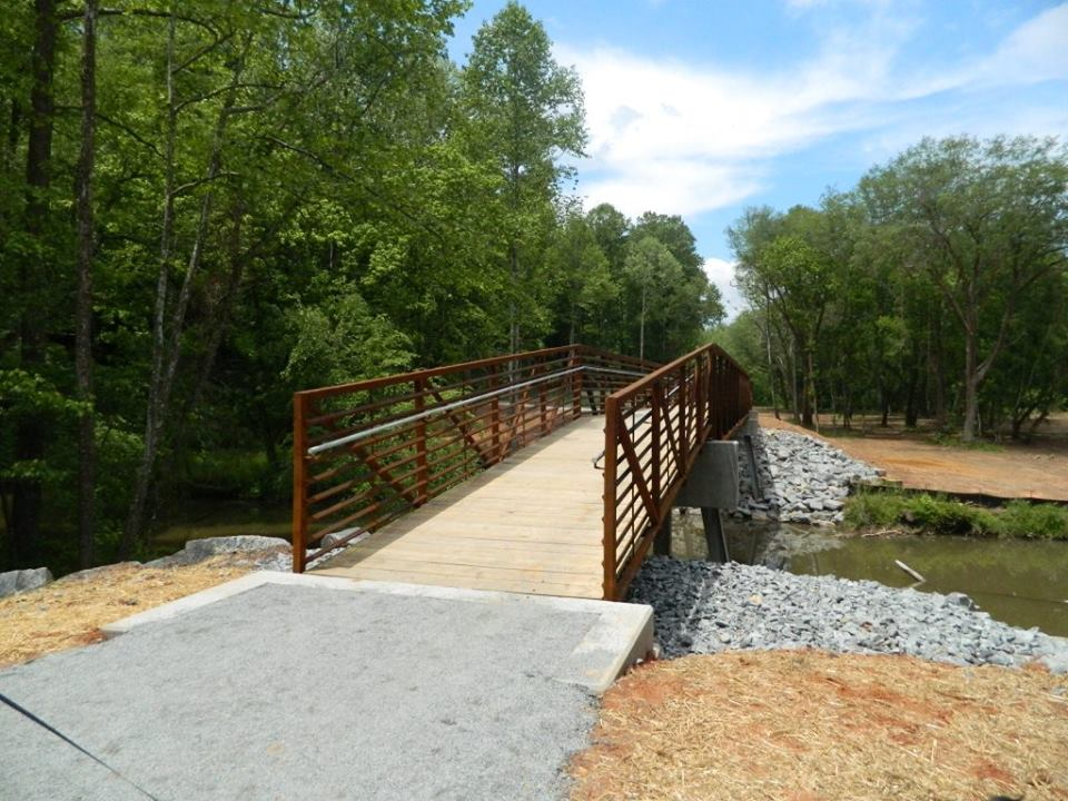 elkin valley trail, bridge